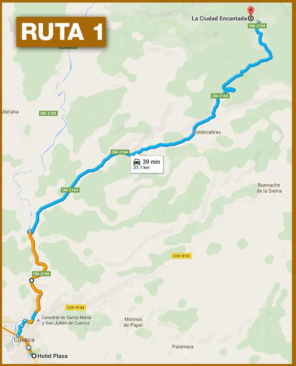 Ruta a la Ciudad Encantada de Cuenca