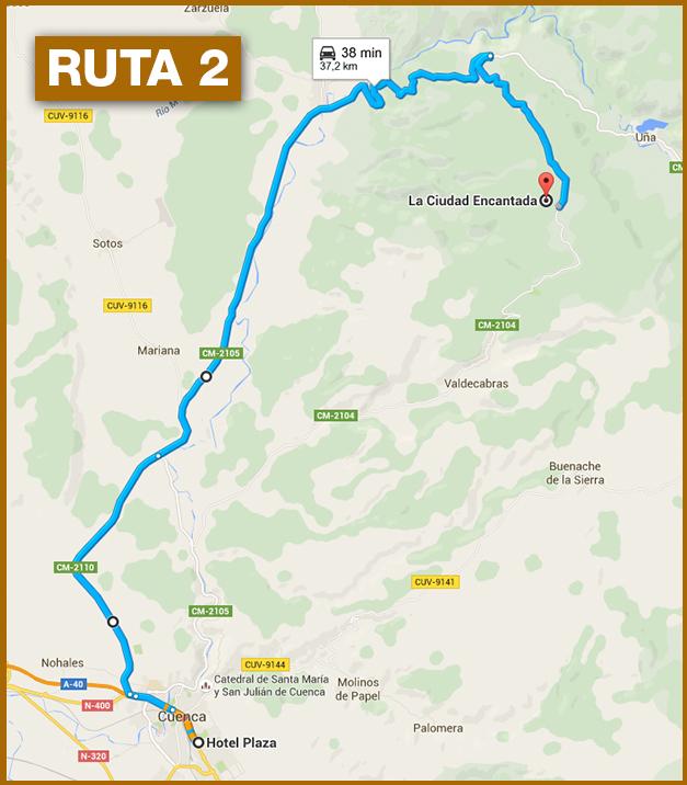Ruta a la Ciudad Encantada de Cuenca 2