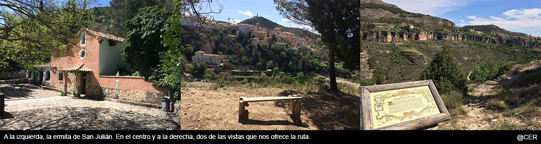 Vistas de Cuenca y la hoz del Júcar desde San Julián