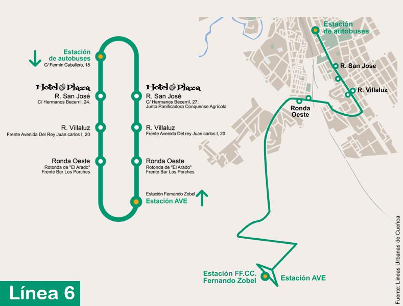 LInea12-cuenca-hotel-AVE