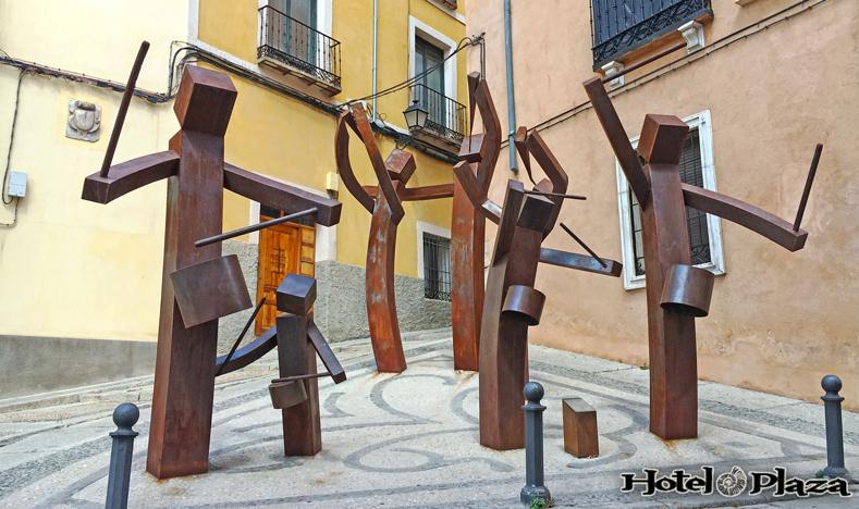 Monumentos a las turbas de Cuenca - Semana Santa
