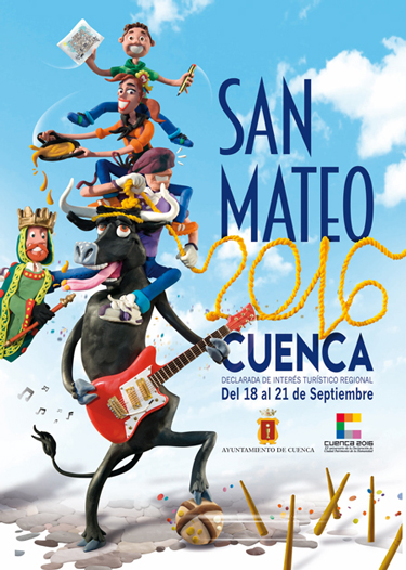 Cartel San Mateo 2016 - Cuenca - Hotel Plaza