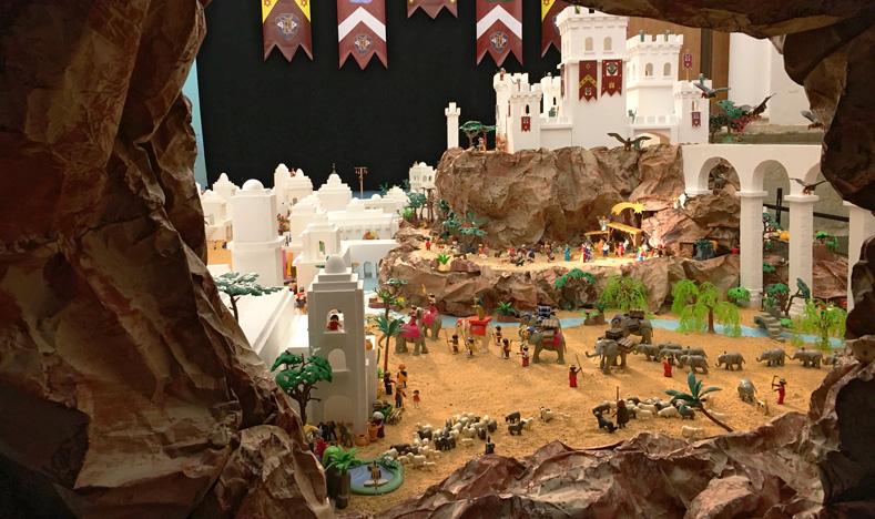 Ruta de los Belenes - Belén de Playmobil