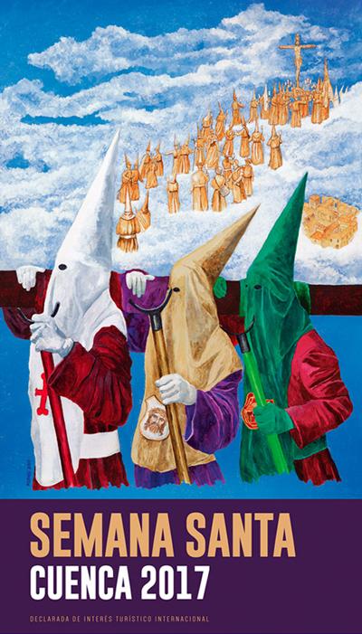 cartel de la Semana Santa de Cuenca 2017