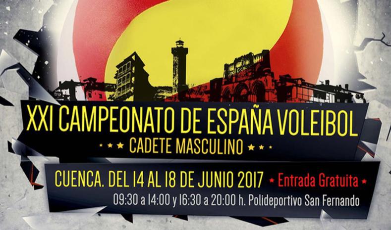 Campeonato de España de Voleibol Cadete Masculino en Cuenca