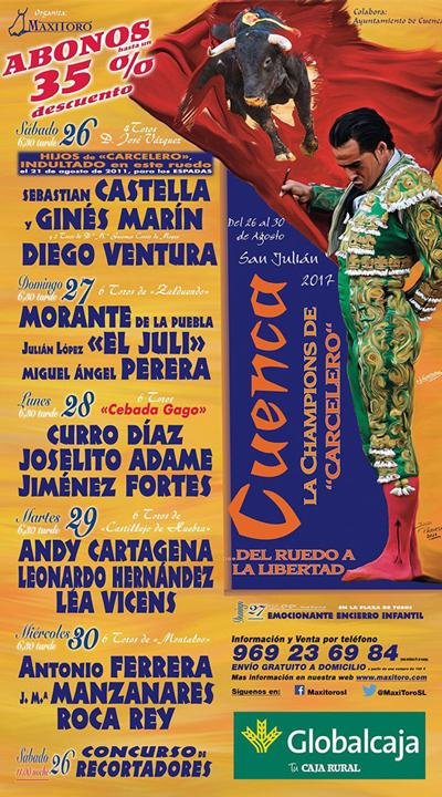 Feria de San Julián - Toros en Cuenca