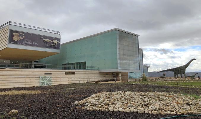 museo paleontológico - dinosaurios - cuenca