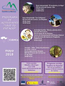 Actividades Serranía de Cuenca primavera 2018