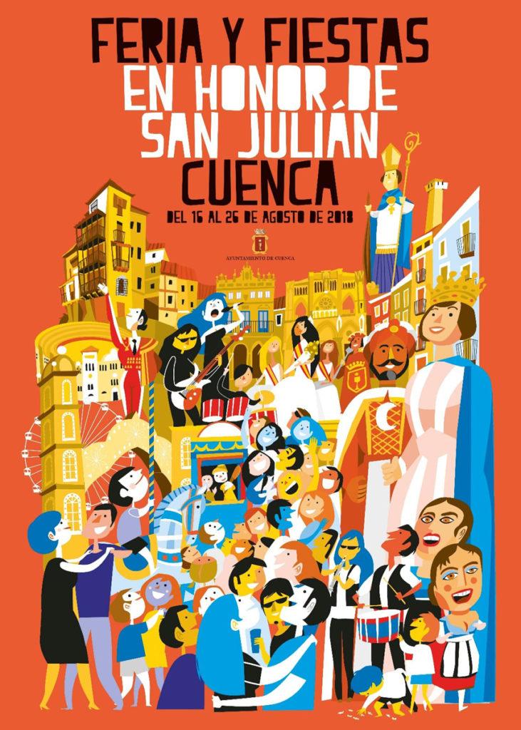 Cartel y programa San Julián 2018