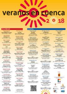 programación veranos en Cuenca 2018